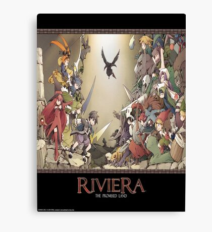 Riviera The Promised Land Merc Canvas Print