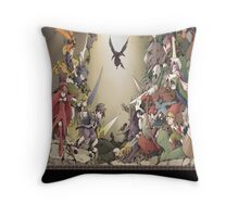 Riviera The Promised Land Merc Throw Pillow