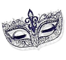Masquerade Ball Mask by Amanda  Hack