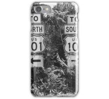 101 North 101 South iPhone Case/Skin
