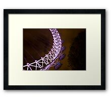 Eye of the Night Framed Print