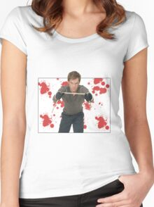 Dexter Morgan Women's Fitted Scoop T-Shirt