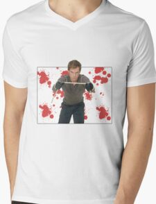 Dexter Morgan Mens V-Neck T-Shirt