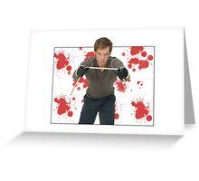 Dexter Morgan Greeting Card