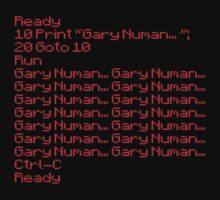 Retro Basic Gary Numan by yeamanphoto