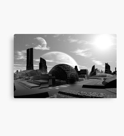 Beyond the Bounds of Earth Canvas Print