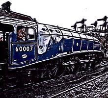 Fractual Train by Trevor Kersley