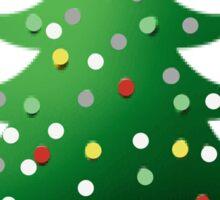 Christmas Tree T-Shirt Sticker