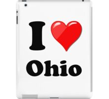 I Love Ohio iPad Case/Skin