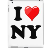 I Love New York State iPad Case/Skin