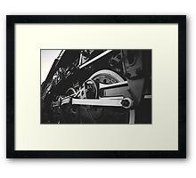 Locomotive 4-8-4 Framed Print