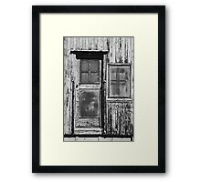 Shut in time Framed Print