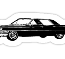 1964 Cadillac Sedan Sixty Two Series Sticker
