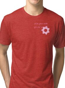 Pop-u-ler... lar. Tri-blend T-Shirt