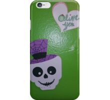 skeletons love olives  iPhone Case/Skin