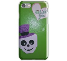 skeletons love olives  iPhone Case/Skin