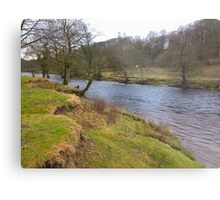 River in Yorkshire UK Metal Print