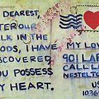 Valentine Postcard  by izzybeth