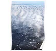 Cloud Over The Tundra, Manitoba. Poster
