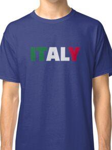 Italy flag Classic T-Shirt