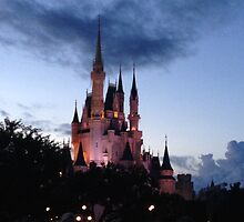 Castle at Dusk by KaitlynCrystal