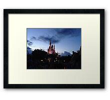 Castle at Dusk Framed Print