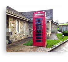 UK Telephone Booth Canvas Print