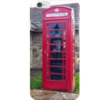 UK Telephone Booth iPhone Case/Skin