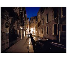 Venice By Moonlight #13 Photographic Print