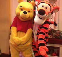 Pooh & Tigger by KaitlynCrystal