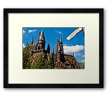 The Wizarding World of Harry Potter: This Way To Hogwarts Framed Print