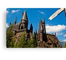 The Wizarding World of Harry Potter: This Way To Hogwarts Canvas Print