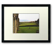 Beautiful Scenery in Yorkshire UK Framed Print