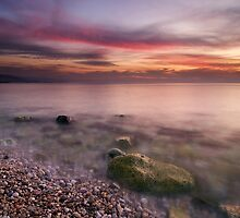 After the sunset by Antoine Khater