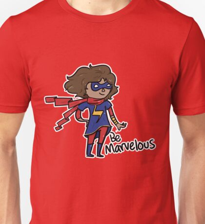 Kamala Khan - Be Marvelous Unisex T-Shirt