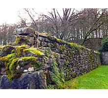 Stone Wall in Yorkshire UK Photographic Print
