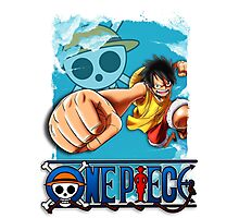 One Piece - Luffy Photographic Print