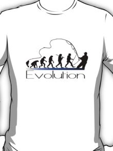 Evolution of fisherman T-Shirt