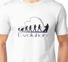 Evolution of fisherman Unisex T-Shirt