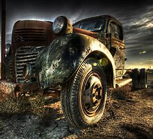 Retired Trucker by Ben Pacificar