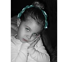Sad Eyes Photographic Print