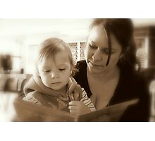 Book time Photographic Print