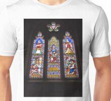 Stained glass Window, Uniting Church, Ross, Tas. Australia Unisex T-Shirt