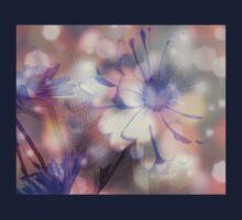 Floral Sparkle Design Art Kids Clothes