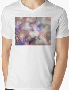 Floral Sparkle Design Art T-Shirt