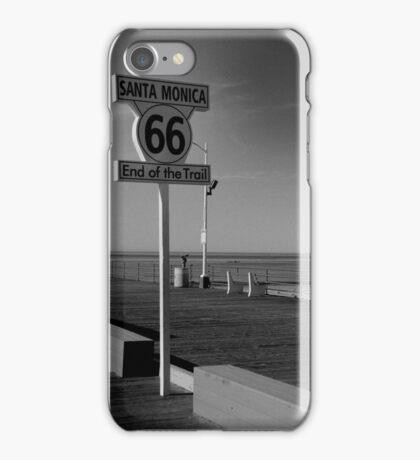 Santa Monica 66 iPhone Case/Skin