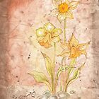 The Grunge Daffodils by AngelArtiste