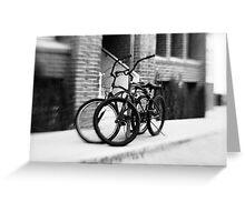 Bicycles #1 Greeting Card