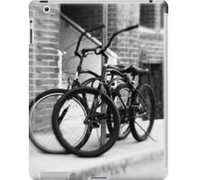 Bicycles #1 iPad Case/Skin