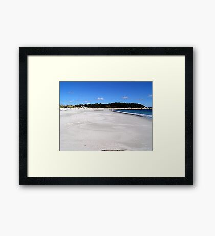 All To Myself Framed Print